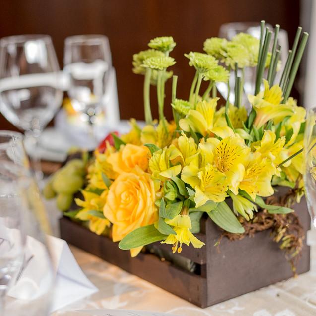 Quattro Fotografias - Flores para casamento amarelas