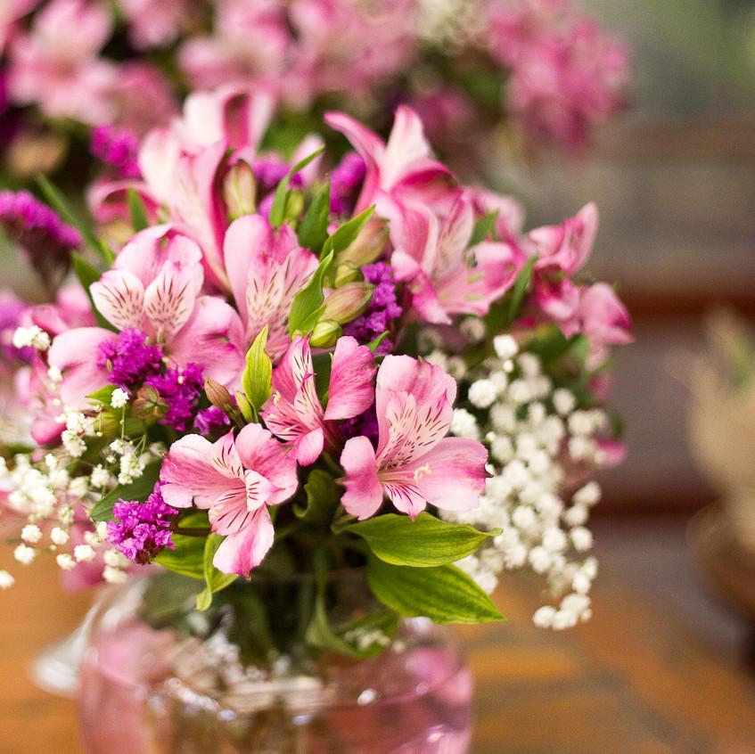 Quattro Fotografias - astromélia - flores de casamento