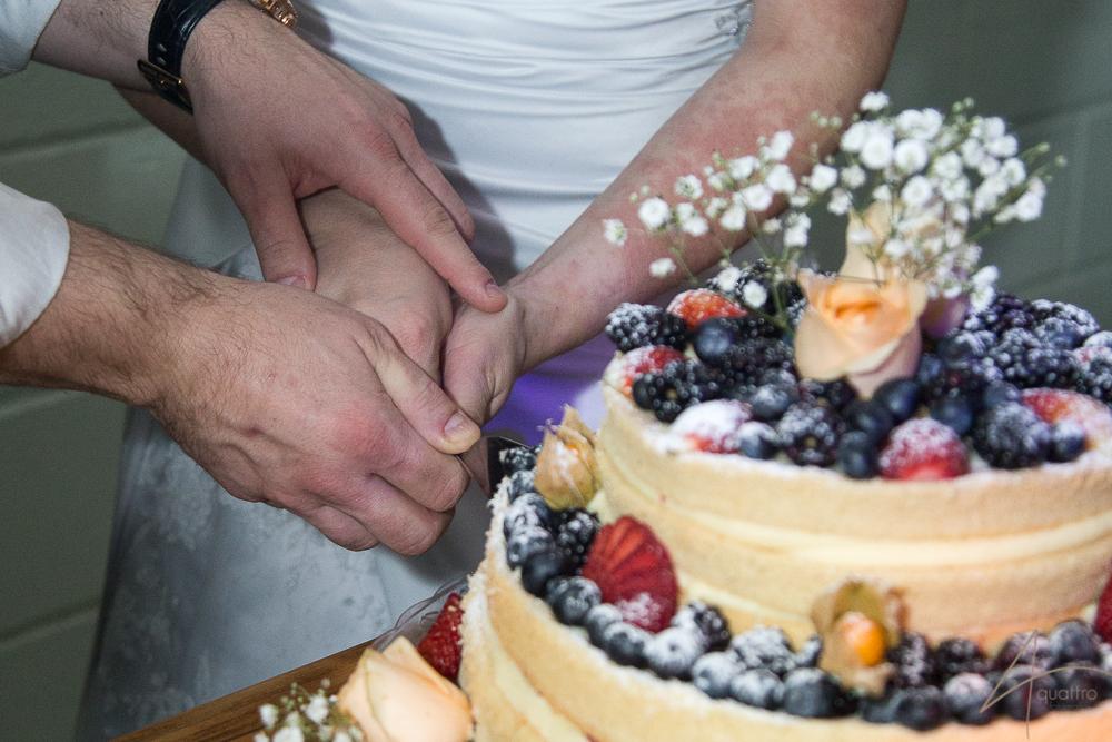 naked, bolo, casamento, quattro fotografias