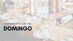 """Domingo, """"pé de cachimbo"""" e dia de casamento: veja as vantagens ao escolher esse dia para dizer sim"""