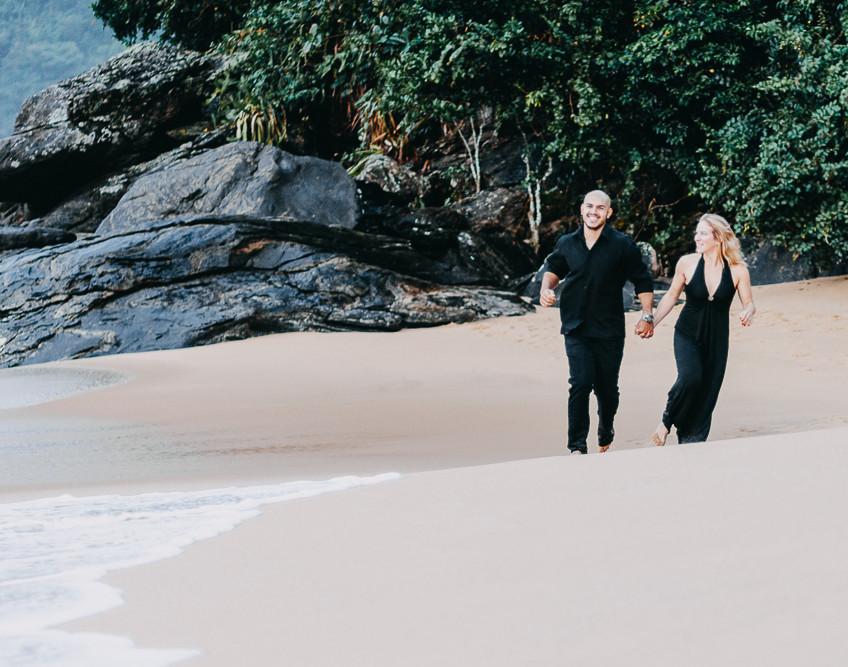 Casar na praia, pre wedding Quattro Fotografias