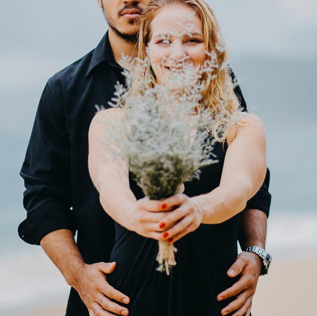 Casar na praia, pré wedding, quattro fotografias