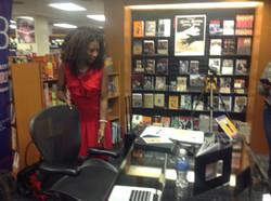 Author Ollie L. Jefferson Signing
