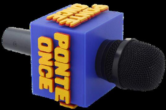 Flag de micrófono, Ponte pilas