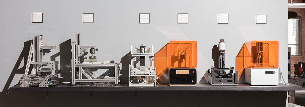 evolución de formlabs impresoras 3d
