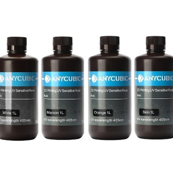 Resinas Anycubic Standard y castable o calcinable