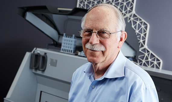Chuck Hull, manufactura aditiva