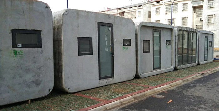 Salas de aislamiento creadas con impresión 3d por WINSUN