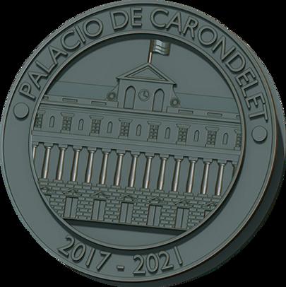 moneda de carondelet para impresion 3d