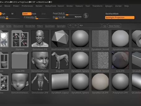 Diseño 3D con Zbrush en 5 minutos
