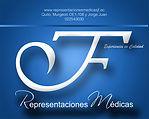 JF Representaciones médicas logo