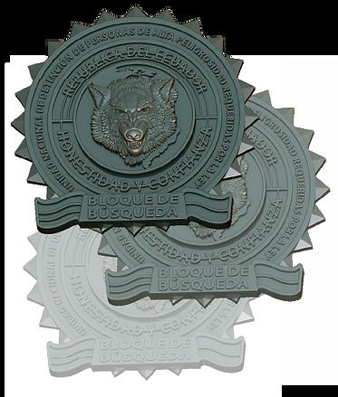 medalla de lobo