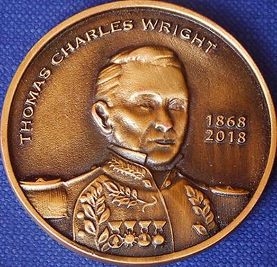 moneda de Thomas Charles Wright