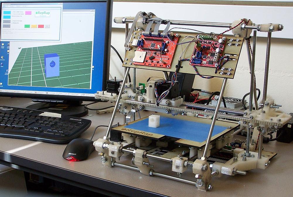 mendel impresora 3d