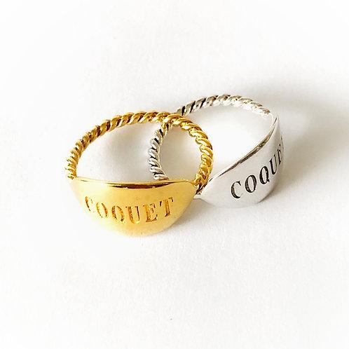 "Ring  ""Coquet """
