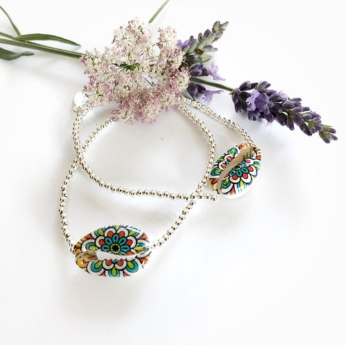 "Armband Kauri ""Flowerpower """