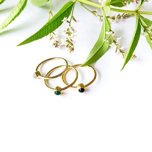 """Ring """"Point vert """""""