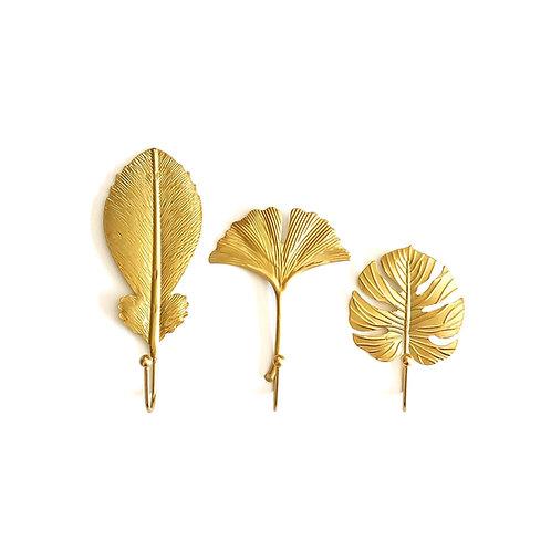 """Wandhaken """" Leaf """""""