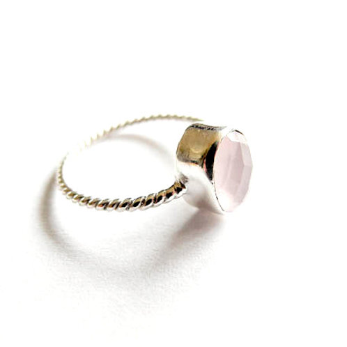 "Ring "" Rosenquarz"""