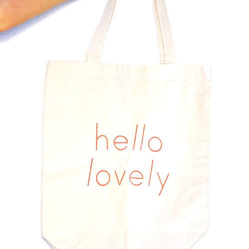 "Tasche "" Hello Lovely """
