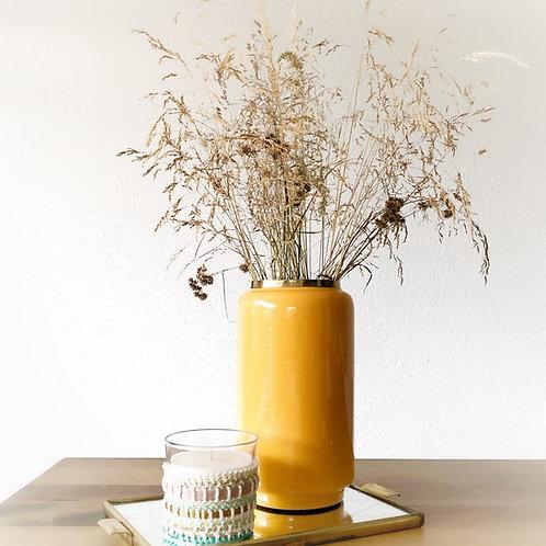 """Vase """"Moutarde """""""