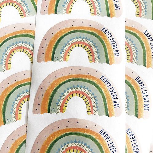 "Sticker "" Rainbow """