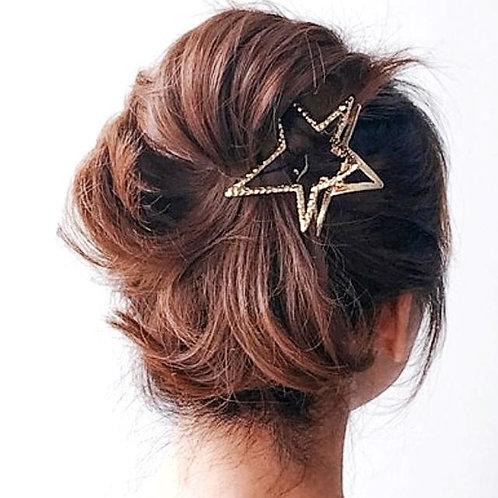 """Haarklammer """" Star """""""