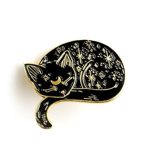 """Katzen-Pin """" Cosmos """""""