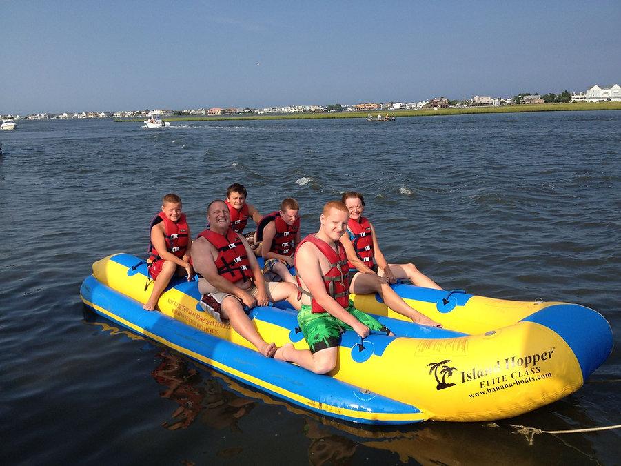 banana-boat-rides-fenwick-island-delawar