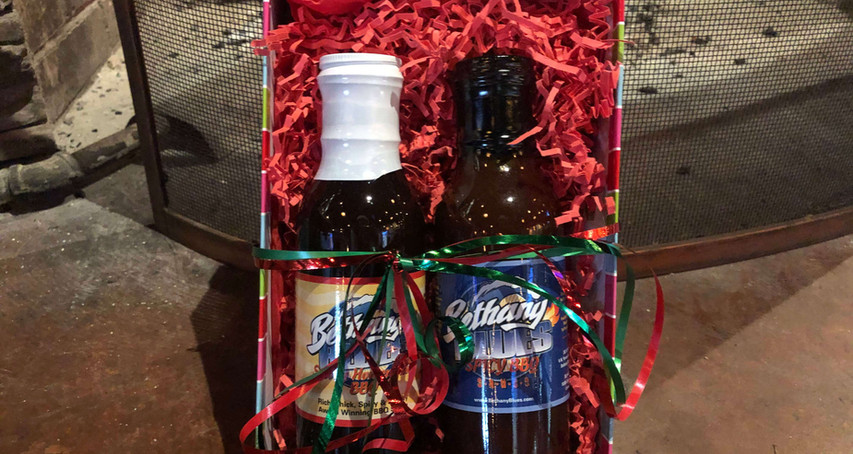 #1 Spicy BBQ Sauce from Bethany Blues