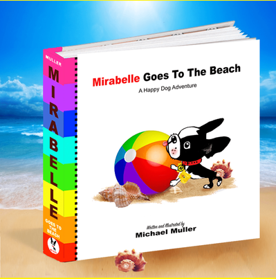 #9 Book: Mirabelle Goes To The Beach