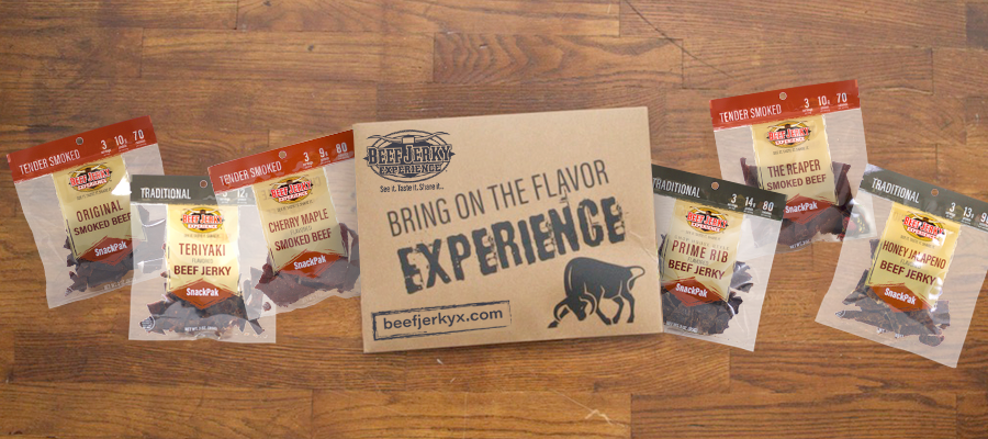 #12 Jerky of the Month Club- Beef Jerky Outlet
