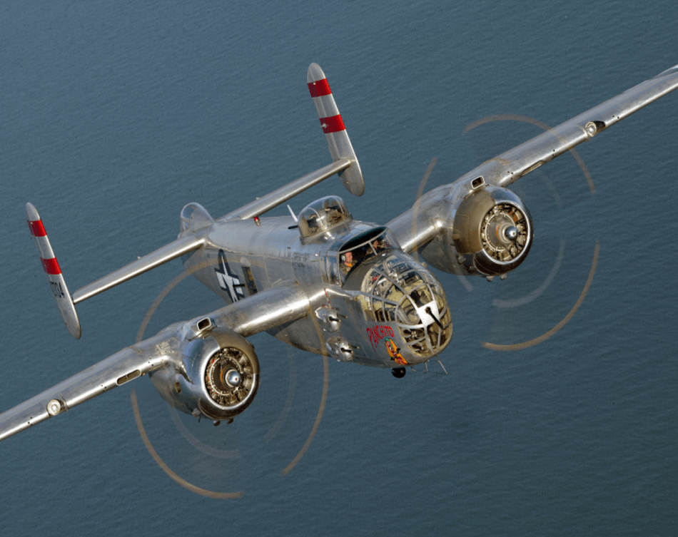 #5 Ride in a B-25 Bomber Panchito
