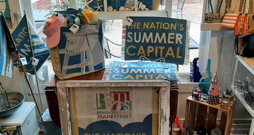 "#9 Sassy Chic's ""Rehoboth Main Street Banner Gifts"""