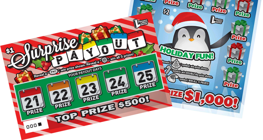 #11 Delaware Lottery Holiday Scratch Offs