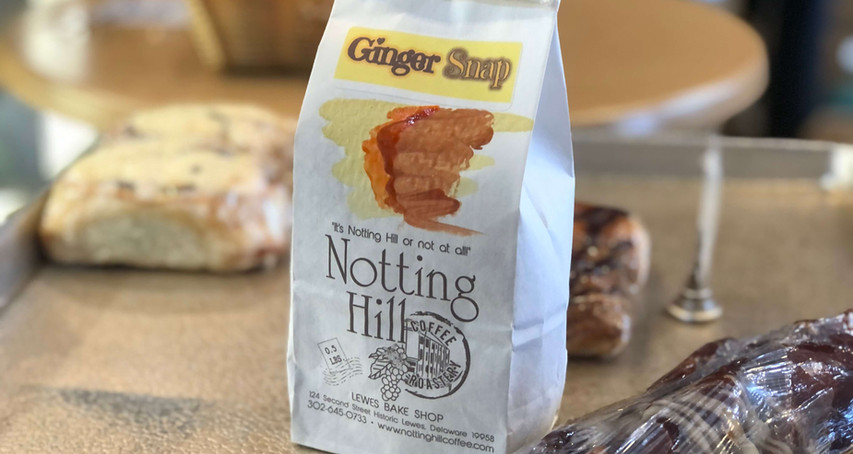 #17 Ginger Snap Coffee from Notting Hill Coffee in Lewes