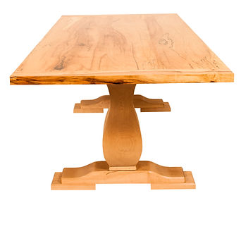 Trestle Table (spalted maple)
