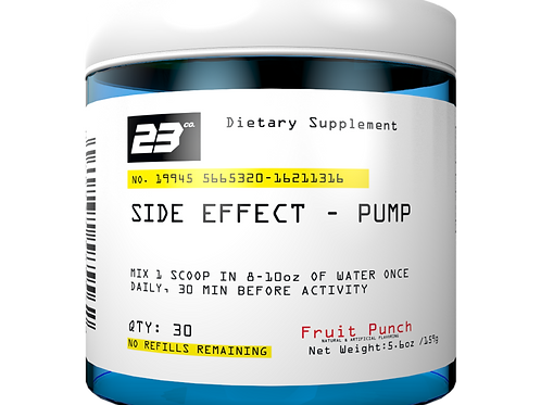 Side Effect- Pump