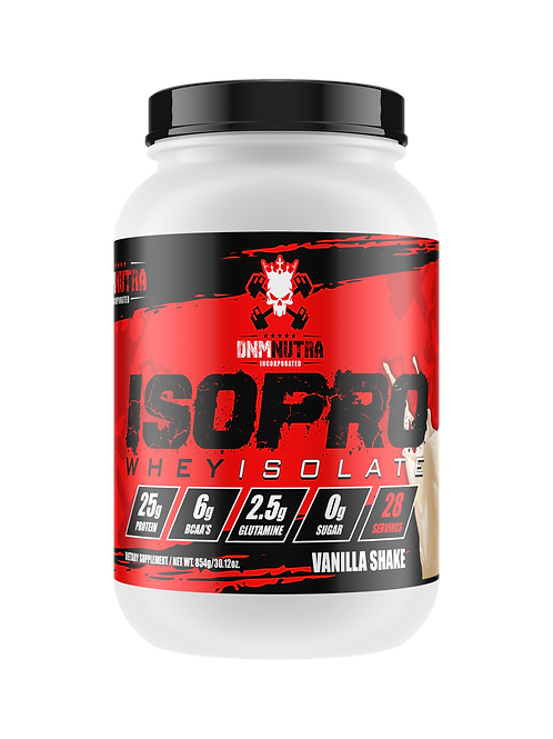 ISOPRO - Whey Protein Isolate