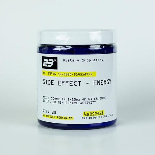Side Effect- Energy
