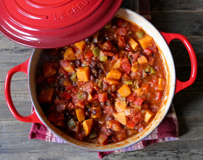 Sweet Potato Chilli
