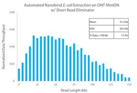 Automated Nanobind E. coli Extraction on ONT MinION