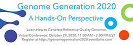 Genome Generation 2020 Flyer Twitter Ban