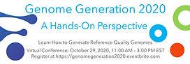 Genome Generation 2020 Flyer Twitter Ban