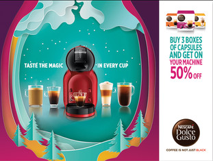 Ads campaign for Nescafe, Singapore