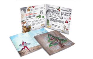 Christmas booklet for KU DE TA, Bali