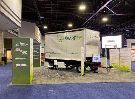 """""""SMARTPUP"""" Trailer non-CDL Design Launched at NACV Truck Show"""