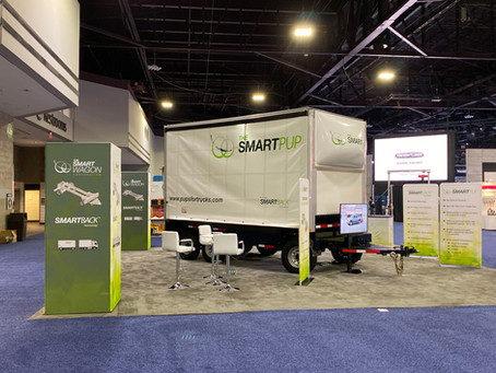 """SMARTPUP"" Trailer non-CDL Design Launched at NACV Truck Show"