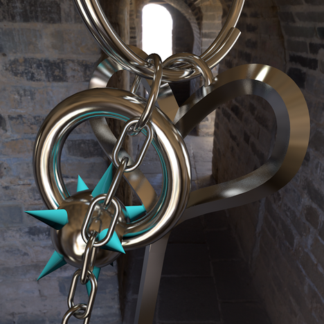 Keychain Detail 1