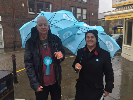 Campaigning in Crook